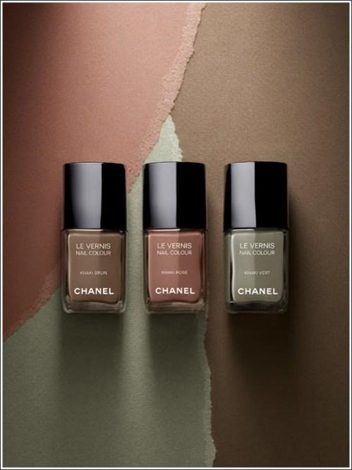 Les khakis de Chanel..